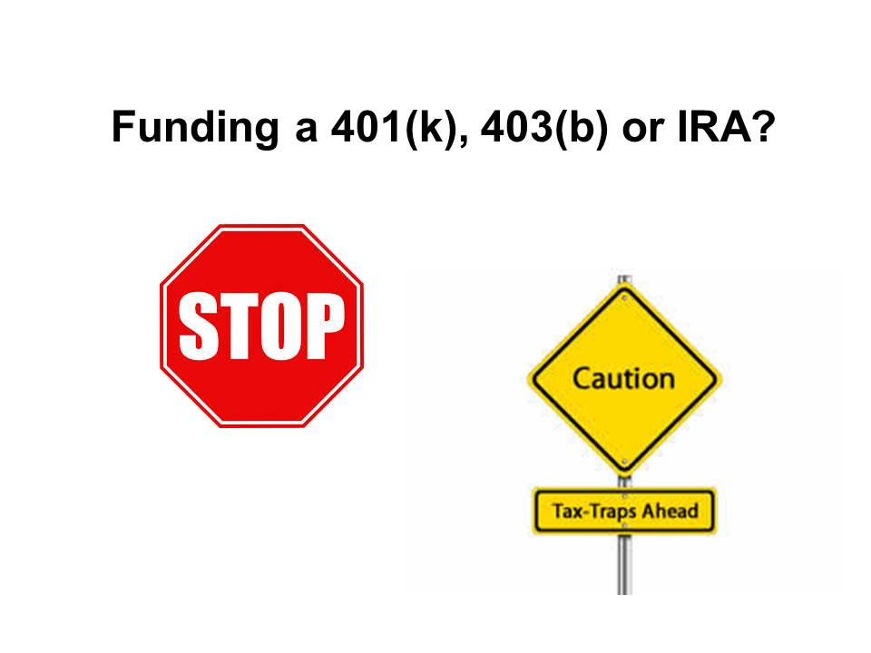 Caution Tax Traps Ahead